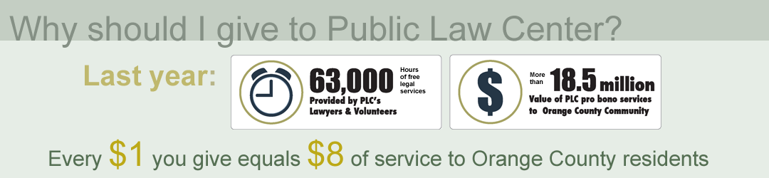 Why You Should Give to Public Law Center