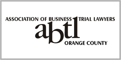 Association of Business Trial Lawyers Orange County