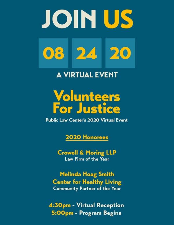 2020 VFJ Virtual Event!